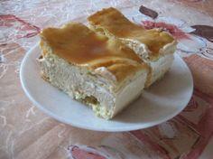 Karamelový větrník na plech - Recept - ReceptyZMouky.cz Czech Recipes, Ethnic Recipes, Recipe Details, Sweet And Salty, Apple Pie, Lasagna, Sweet Recipes, Bakery, Deserts