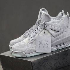 f148276bf4a747 The  KAWS x Nike Air Jordan 4 Retro is in stock at kickbackzny.com
