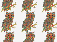 """""""aztec owls"""" by fifi404"""