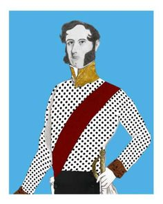 "Saatchi Art Artist Josh MG Yates; Printmaking, ""The Duke on Blue - Edition 3 of 25"" #art"