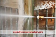 http://nashville.renewcrewclean.com/nashville-pressure-washing-service - In Stage 1 we apply a special cleaning agents to deep clean your wood. It is eco-friendly and safe for plants and works great on siding, concrete and other outside surfaces too. Free Estimates. http://nashville.renewcrewclean.com  Renew Crew of Nashville 4825 Trousdale Dr. Suite 103 Nashville, TN 37220 (615) 454-2351