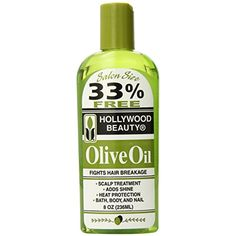 Hollywood Beauty Olive Oil, 8 Ounce * For more information, visit image link. (This is an affiliate link) #HairCare