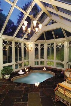 Conservatory Spa And Hot Tub Enclosure