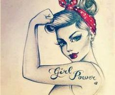 Girl Pover! ;) Grow Woman