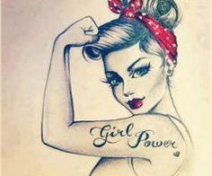 Girl Pover! ;) Grow Woman