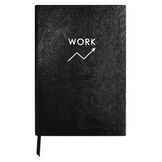 Contrast WORK NOTEBOOK (220 ILS) ❤ liked on Polyvore featuring home, home decor, stationery and filler