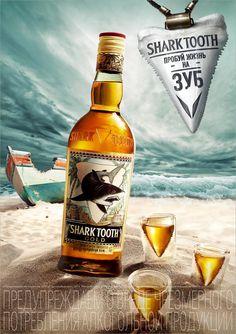 Art & Rum Shark Tooth Rum ByAnna Abrikosova• Russia