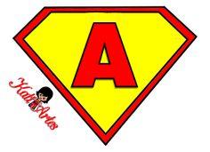 KATIA ARTES - BLOG DE LETRAS PERSONALIZADAS E ALGUMAS COISINHAS: Alfabeto Super Homem