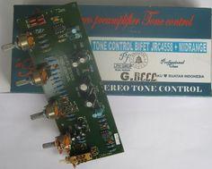 """Jual beli MB131 TONE CONTROL BIFET Stereo JRC4558 +MIDRANGE CONTROL GB602 di Lapak Mbish Bangun Indonesia - mbish_elektronik. Menjual Speaker - TONE CONTROL BIFET JRC4558 DENGAN MIDRANGE/ MEDIUM CONTROL GB602 """" MUGEN"""" Keunggulan antara lain : > Benar-benar Hi Fi Stereo dan suara agak Open / tidak mendam . >Tone Midrange Bisa di kontrol ( tidak seperti tone control umumnya ] >Pakai IC 4558 2 pcs berkualitas baik ( High End IC buatan JAPAN ] dan umumnya..."""