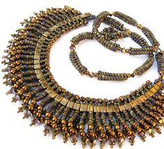 Terra Isis necklace by Cielo Design, via Flickr