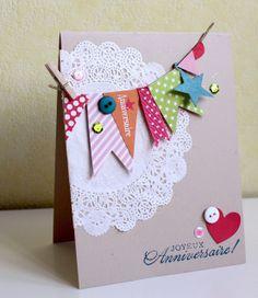 """carte """"Joyeux anniversaire"""" d'Isalilou"""