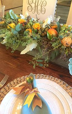 Thanksgiving Centerpiece Rough Luxe Lifestyle Cindy Hattersley Design