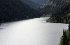 Kolsai Lake, Kazakhstan.  Rustem Uanov (RFE/RL)