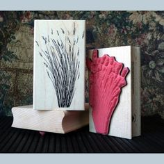 Grass Cluster Rubber Stamp