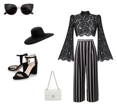 """""""Untitled #15"""" by cristina-lungu-1 on Polyvore featuring Rasario, Maison Michel and Chanel"""