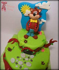 Wolf Birthday Cake - Vuk Vucko torta by Balerina Torte Jagodina