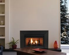 Innsbrook Vent-Free Gas Fireplace Insert with Built-In Thermostat