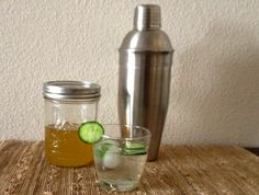 Cucumber Mint Shrub Recipe- Keep things light with this mixture of cucumber and mint, ideal for gin and sake cocktails.