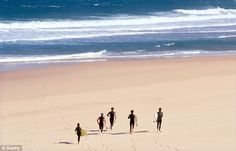 Waves of pleasure: Portugal's spectacular Costa da Prata is heaven for surfers, Guincho, Lisbon, Portugal