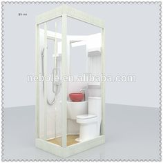 All In One Bathroom Units Prefab Bathroom , Find Complete Details about All In One Bathroom U Rv Bathroom, Outdoor Bathrooms, Tiny Bathrooms, Small Bathroom, Portable Bathroom, Small Shower Room, Small Showers, Shower Pods, Mini Bad