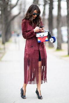 Paris Fashion Week Street Style Fall 2015