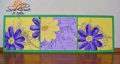 Sublime Metier: Tablou Trio Purple