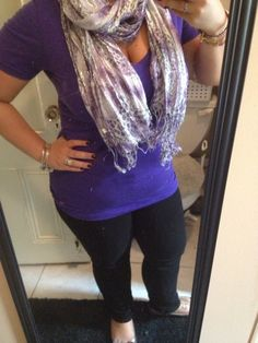 obsessed with purple