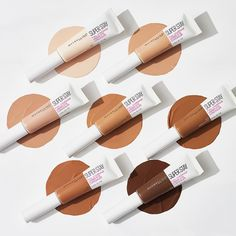 The NEW #superstayconcealer completely covers dark circles for up to 24 hours without smudging, transferring or fading. Comment below if…