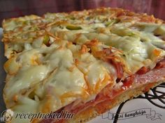 Érdekel a receptje? Kattints a képre! Paleo, Taco Pizza, Quiche, Macaroni And Cheese, Cabbage, Bacon, Food And Drink, Menu, Healthy Recipes