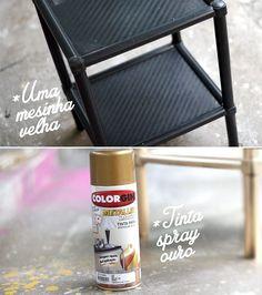 Como pintar e renovar móveis de plástico - Ricota Não Derrete - http://www.ricotanaoderrete.com/2014/09/como-pintar-e-renovar-moveis-de-plastico.html?utm_source=ModaIT&utm_medium=site&utm_term=post&utm_content=link&utm_campaign=ModaIT_site