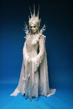 snow queen costume.