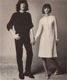 London mod style - Richard Avedon's HARPER'S BAZAAR april 1965 - Chrissie Shrimpton