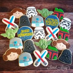 Sweet Missy's - Star Wars cookies for a 5th birthday!