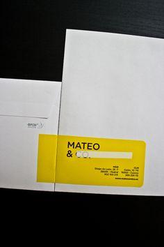 MATEO by Santos Henarejos, via Behance