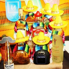 sombreros and ponchos for the drinks would like for bachelorette party