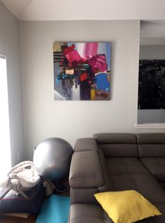 Abstract in collectors home