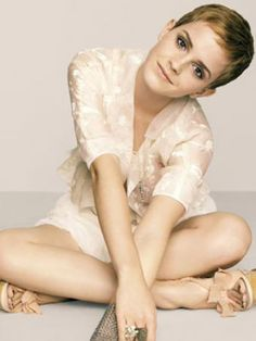 A vote in favor of short hair....now, if only my stylist could actually turn me into Emma Watson...