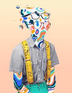 Freaks & Geeks by Weston Doty, via Behance