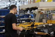 """Inside the Lamborghini factory – making of Aventador"" by @getpalmd"