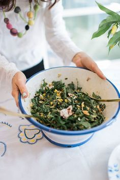 Arugula Orzo Salad,