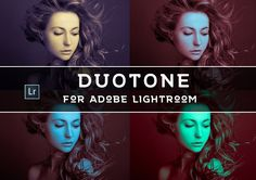 30 Duotone LR Presets by LOU&MARKS on @Graphicsauthor