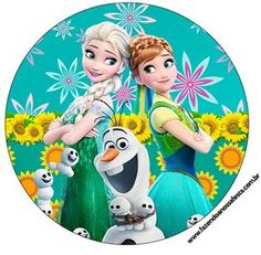 Latinhas, Toppers e Tubetes Frozen Fever