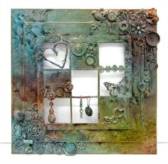 Mixed Media Triple Frame Collage Tutorial