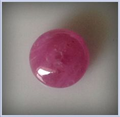 RUBY BEAD NATURAL MINED GEM 1.90cts