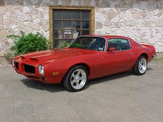 1973 Pontiac Firebird. Find parts for this classic beauty at http://restorationpartssource.com/store/