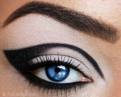 Blue Steel by ~NaturallyErratic   Mod Makeup and Blue Eyes