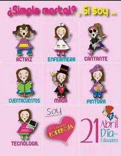 Día de la educadora #Kinder #Preescolar #Maestra