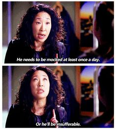 Christina talking about Alex. Greys Anatomy Memes, Grey Anatomy Quotes, You Are My Person, Grey Quotes, Dark And Twisty, Sandra Oh, Cristina Yang, Dance It Out, Medical Drama