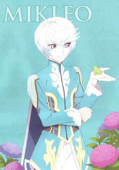 Tags: Scan, Namco, Official Art, ufotable, Tales of Zestiria, Mikleo (Tales of Zestiria)
