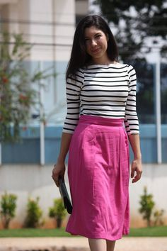 Stripes + Pink.